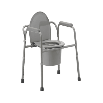 MOBB Healthcare 3-In-1 Commode with Bucket & Lid