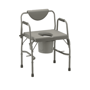 MOBB Healthcare Heavy Duty Bariatric Commode Chair MHCMH - 500 lb Cap