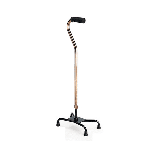 MOBB Healthcare Large Base Quad Canes - Senior.com Canes