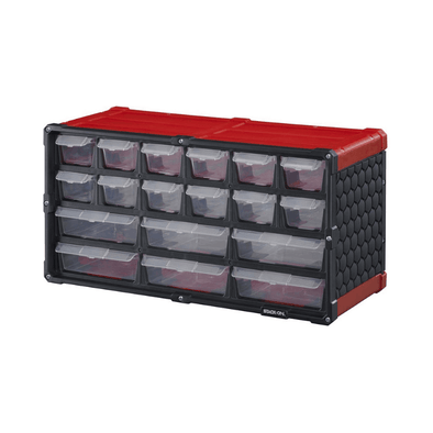 Stack-On 18 Drawer Storage Cabinet For Nails & Screws SCR-18