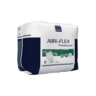 Abena Abri-Flex Premium Protective Underwear – Medium M3 Case of 84 - Senior.com Incontinence