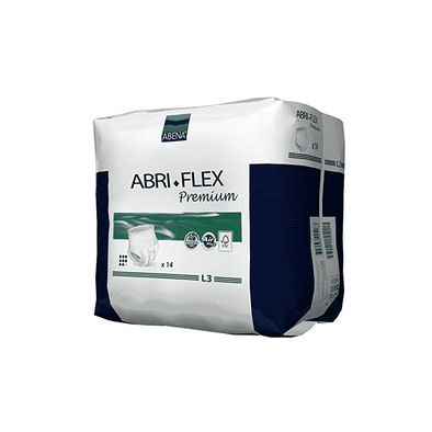 Abena Abri-Flex Pull On Premium Protective Underwear – L3 Case of 84