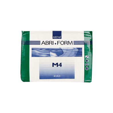 Abena Brief Abri-Form Comfort M4 Tab Closure Medium Disposable Heavy Absorbency - Senior.com Incontinence