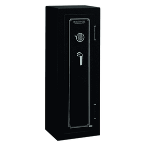Stack-On 14-Gun Fire Resistant Safe with Electronic Lock - Matte Black