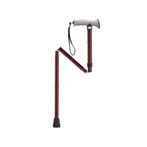 Drive Medical Adjustable Lightweight Folding Canes with Gel Hand Grip