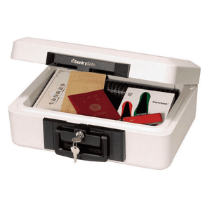 SentrySafe 1/2 Hour Fire-Safe Chest - 0.25 Cubic Feet P45019