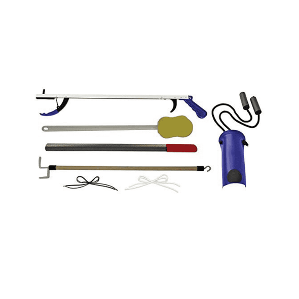 Complete Medical Stop Your Bending Deluxe Hip Kit - Senior.com Daily Living Kits