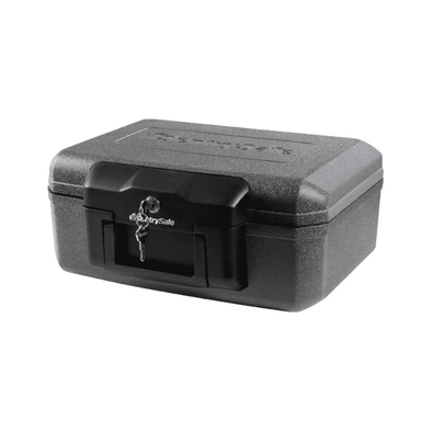 SentrySafe Fireproof Box with Key Lock - 0.18 Cubic Feet - Senior.com Security Safes