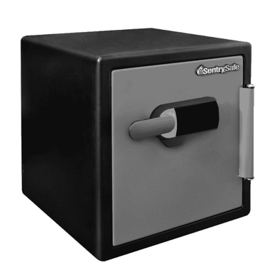 SentrySafe Water and Fire Resistant Safe with Alarm SFW123TSC