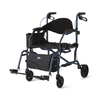 Medline Deluxe Hybrid Combination Rollator & Transport Chairs