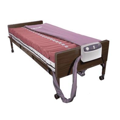 Drive Medical Med Aire Low Air Loss Mattress Replacement System with Alternating Pressure - Senior.com Support Surfaces