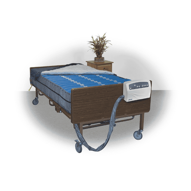 Drive Medical Med Aire Plus Bariatric Heavy Duty Low Air Loss Mattress Replacement System - Senior.com Support Surfaces