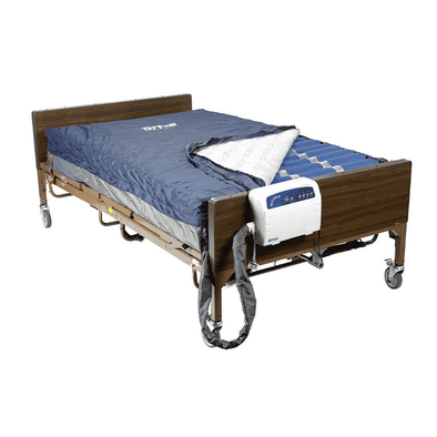 Drive Medical Med Aire Plus Bariatric Low Air Loss Mattress Replacement System 80 x 54