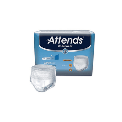 Attends Protective Underwear with DermaDry Technology for Adult Incontinence Care - Case - Senior.com Incontinence