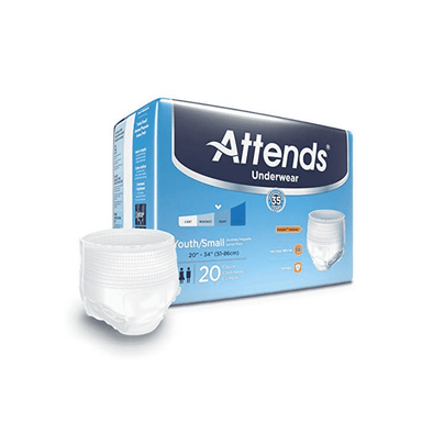 Attends Advanced Protective Underwear with Advanced DermaDry Technology for Adult Incontinence Care - Senior.com Incontinence