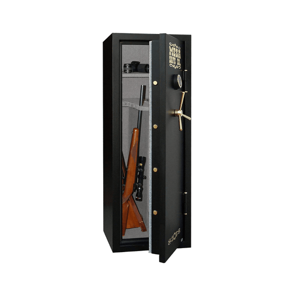 Mesa Safe 14 Gun Capacity All Steel Gun Safe with Electronic Lock - 7.9 CF - Senior.com Security Safes