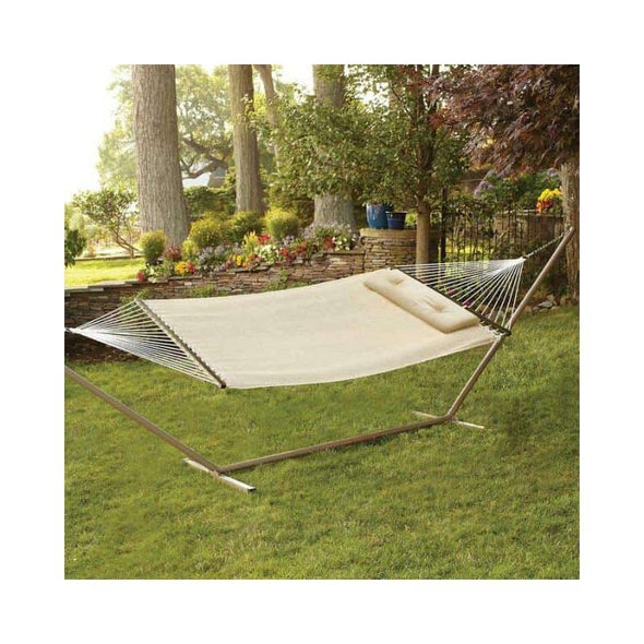 "Bliss 55""W Woven Hammock with Pillow - Senior.com Hammocks"
