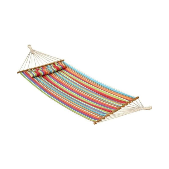 Bliss Oversized Hammock with Spreader Bars and Pillow