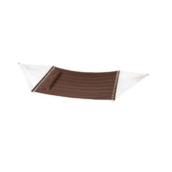 "Bliss Hammock Quilted Hammock with Pillow - 55"" Wide & 420 lb Capacity - Senior.com Hammocks"
