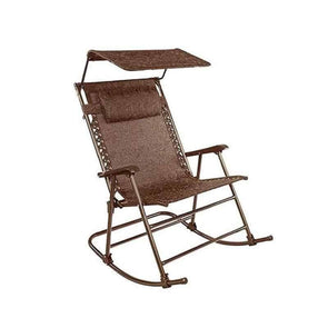 "Bliss Hammocks 27"" Wide Folding Rocking Chair w/ Canopy & Pillow - Senior.com Hammocks"