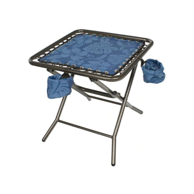 Bliss Foldable Side Table w/ Detachable Cup Holder