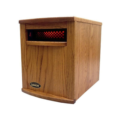 SUNHEAT Original Hand Crafted Infrared Heater - Senior.com Heaters & Fireplaces