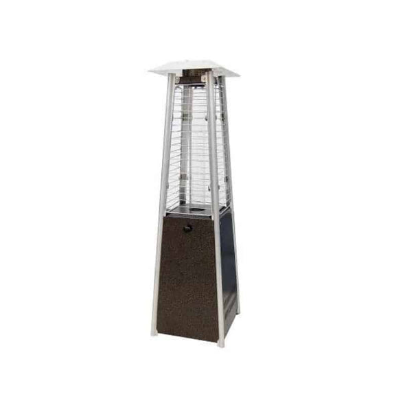 SUNHEAT Square Tabletop Patio Heater with Decorative Variable Flame - Senior.com Heaters & Fireplaces