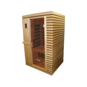 SUNHEAT Contemporary 2 Person Carbon Fiber Far-Infrared Sauna - Senior.com Saunas
