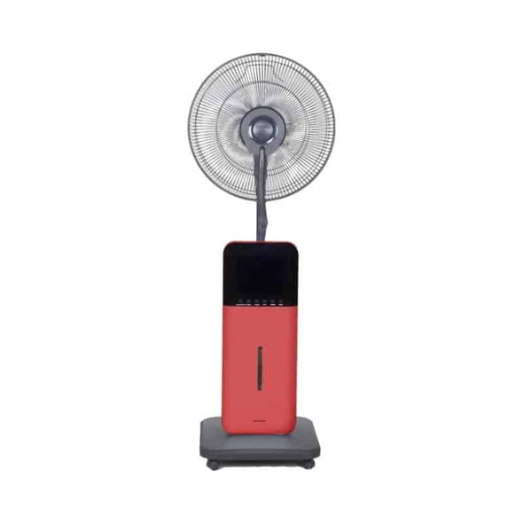 SUNHEAT Ultrasonic Dry Misting Fan with Bluetooth Technology & Mosquito Repellant - Senior.com Misting Fans