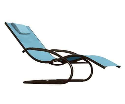 Vivere Outdoor Wave Loungers - Rocking Recliners