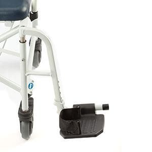 Invacare Mariner Rehab Shower Transport Chairs with Commode Opening - Senior.com Transport Chairs