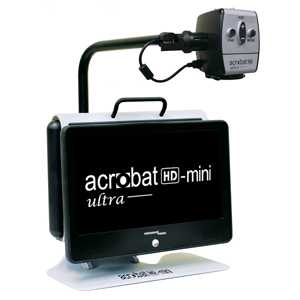 Enhanced Vision Acrobat HD Mini Ultra Portable Battery Operated Electronic Magnifier - Senior.com Vision Enhancers