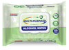 Germisept Multi-Purpose Alcohol Sanitizing Wipes Enriched with Aloe Vera -50 Wipe Packs - Senior.com Alcohol Wipes