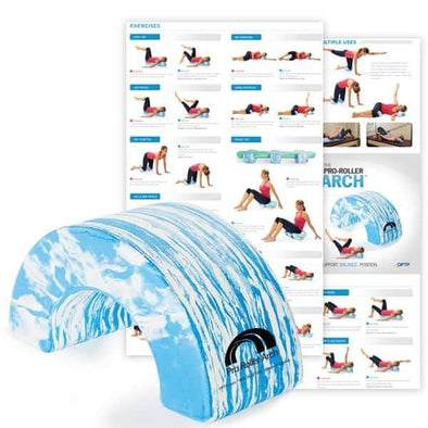 OPTP Pro-Roller Arch - Optimal Position Exerciser & Stretching Aid - Senior.com Foam Rollers