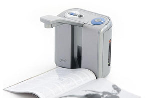 Optelec ClearReader+ Scans and Reads Aloud with 31 different Voice Options - Senior.com Vision Enhancers