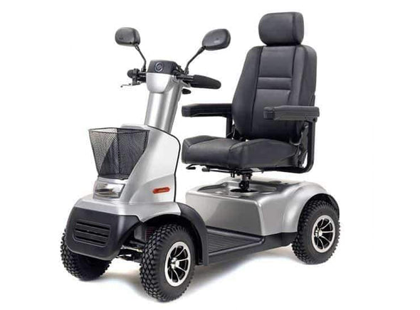 Afikim Afiscooter C 4-Wheel Mobility Scooters - 360 Swivel Seat silver
