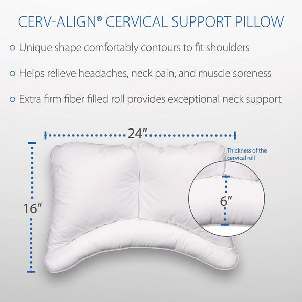 Core Products Cervalign Orthopedic Pillow - Senior.com Pillows