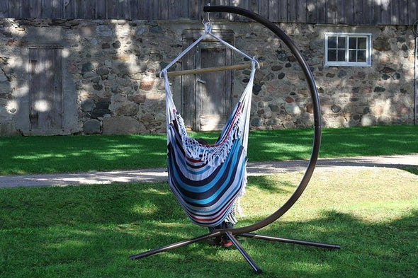 Vivere Hanging Chair Hammock Stand - Senior.com Hammock Stands