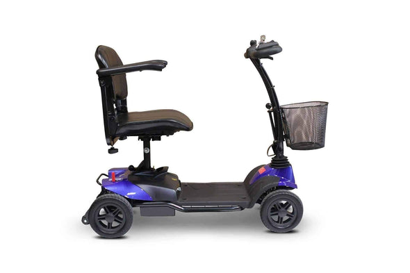 EWheels Medical Lightweight 4 Wheel Portable Mobility Scooters - Senior.com Scooters