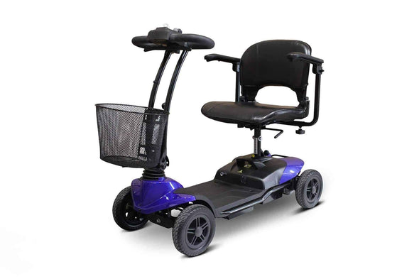 EWheels Medical Lightweight 4 Wheel Portable Mobility Scooter