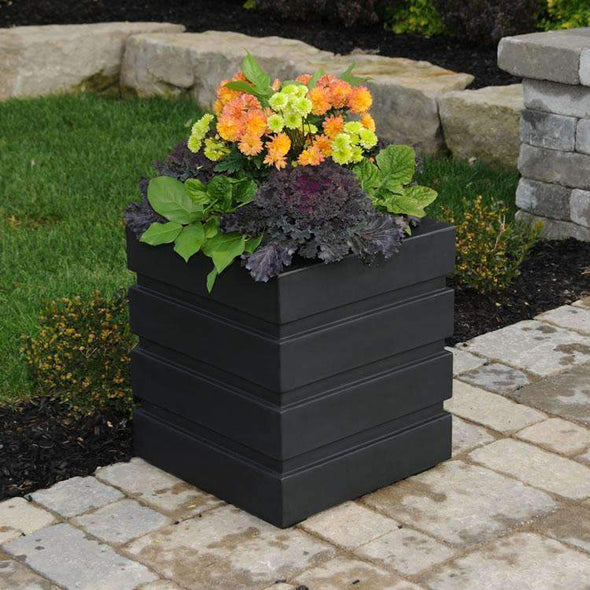 "Mayne Freeport Patio Planters - 18"" x 18"" - Senior.com Planters"
