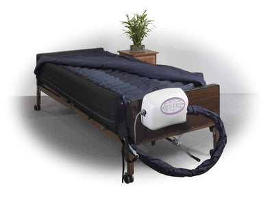 Drive Medical Lateral Rotation Mattress with on Demand Low Air Loss -10 Inch - Senior.com Support Surfaces