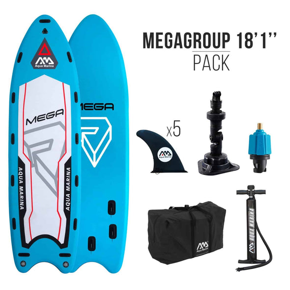 Aqua Marina Mega Group Inflatable Stand-up Paddle Board - Senior.com Stand Up Paddle Boards