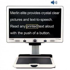 Enhanced Vision Merlin Elite – HD/OCR Video Magnifier - HD Color - Senior.com Vision Enhancers