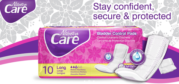 Nileeva Care Light Bladder Control Pads with Maximum Protection & Superior Absorbency