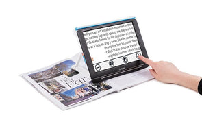 "Optelec Compact 10 HD Portable Folding Low Vision Video Magnifier - 10"" Screen - Senior.com Vision Enhancers"