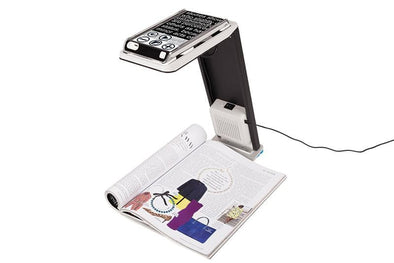 Optelec Compact 6 HD Foldable Speech Dock For Video Magnifier - Senior.com Vision Enhancers
