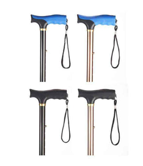 MOBB Healthcare Ergonomic Folding Travel Canes - Senior.com Canes