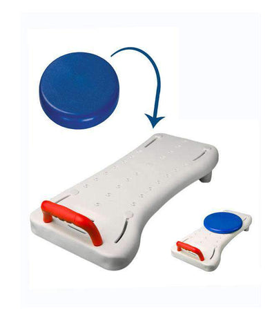 MOBB Deluxe Bath Transfer Board With Optional Swivel Seat - Senior.com Transfer Equipment
