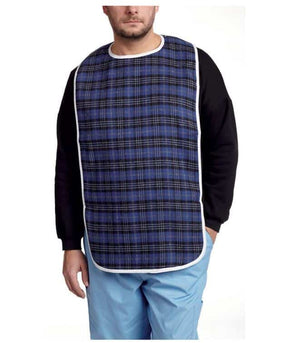 MOBB Healthcare Extra Large Cotton Bib w/ Snaps